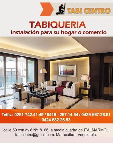 tabicentro - tabiqueria instalación sistema drywall
