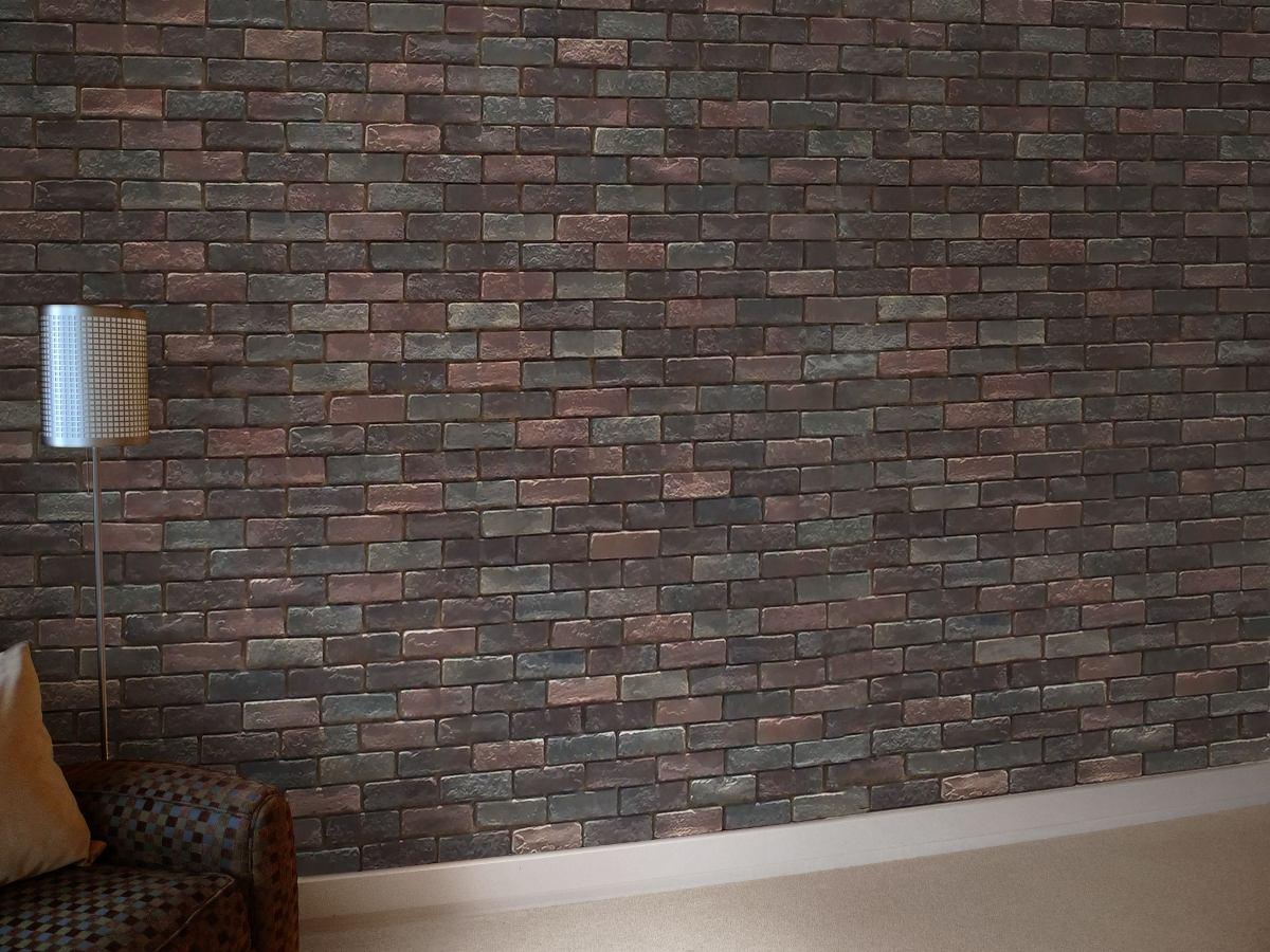 Tabique cultivado muros fachadas y recubrimientos - Muros decorativos para interiores ...