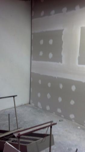 tabique, pared, divisiones con durlock y knauf por m2