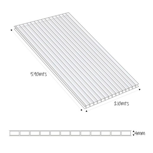 tabiquería y construcción liviana lamina alveolar 4mm 5 5hct