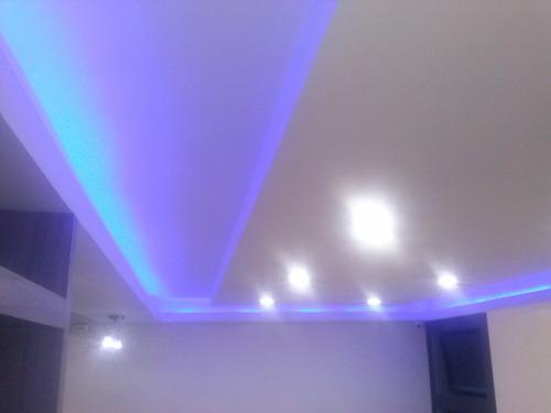 tabiques techos de  escayola  drywall yeso en 3d cielo raso