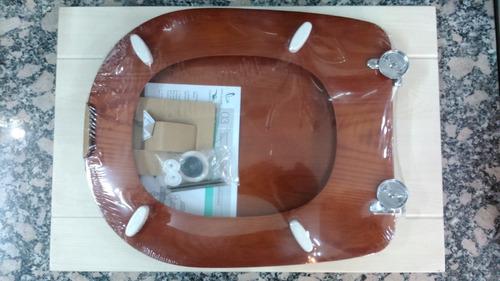 tabla asiento inodoro adriatica derpla madera natural t.cedr