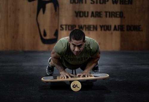 tabla balance funcional profesional equilibrio crossfit surf