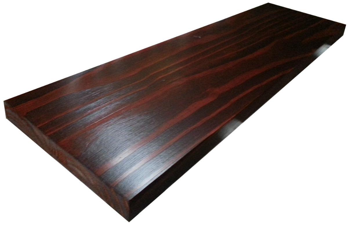 Tabla barra desayunador pasaplato estante madera maciza for Bar de madera de pino