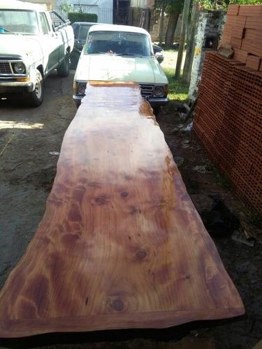 tabla barra desayunador rustico