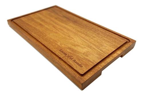 tabla corte madera premium parrilla picadas locos x el asado
