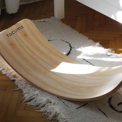 tabla curva tacuma 87x35  waldorf montessori pikler