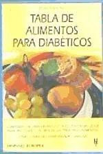 tabla de alimentos para diabéticos(libro endocrinología)