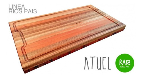 tabla de asador - mod. atuel - productos raíz - madera pura