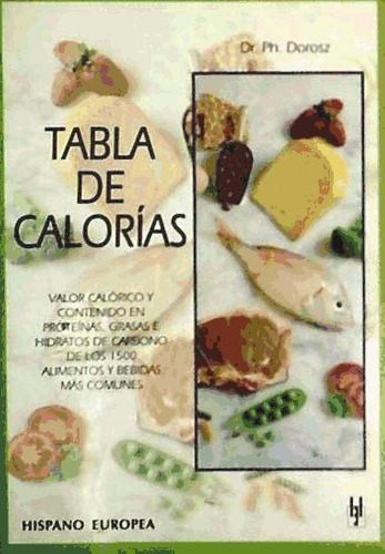tabla de calorías(libro cuidado del cuerpo)