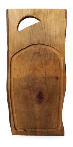 tabla de cortar de madera asado/cocina 50 cm
