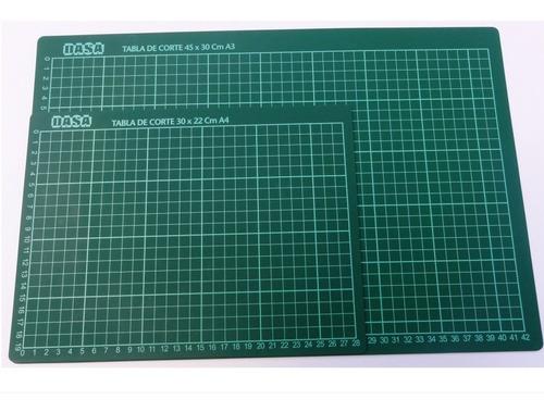 tabla de corte a4 - excelente calidad  / lauacu