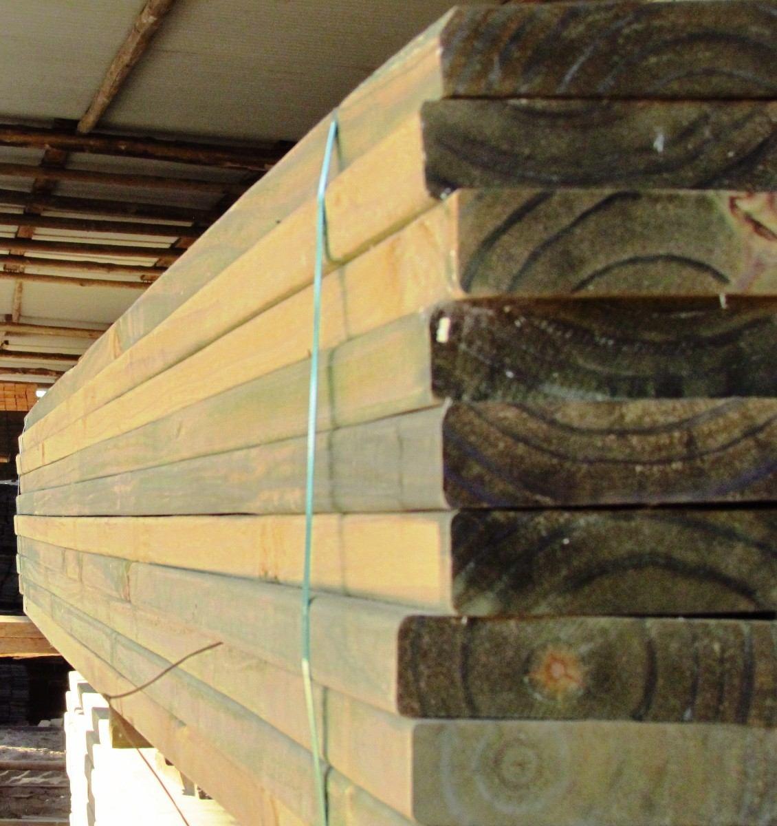 Tabla de deck cca 6x1 5x 3 30 mts de madera tratada curada - Postes de madera tratada ...