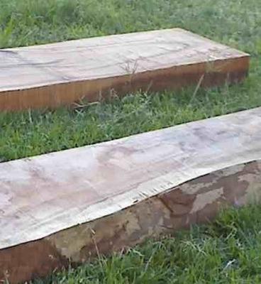 tabla de durmiente de quebracho, para caminos!! largo 40cm