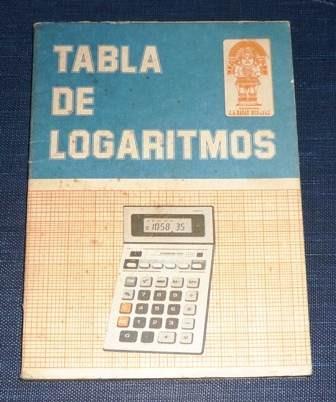 tabla de logaritmos decimales vulgares ragas matemáticas