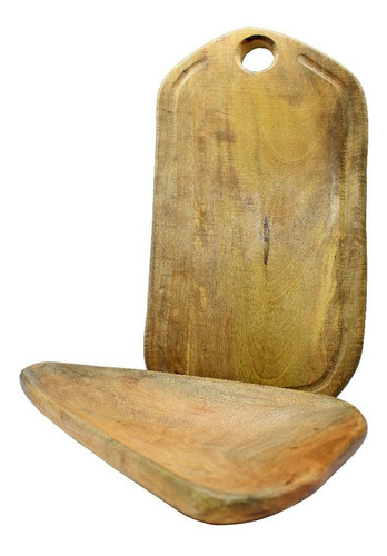 tabla de madera artesanal