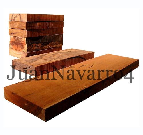 tabla de madera de quebracho colorado 1 m.