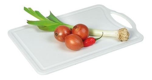 tabla de picar corte cocina plastico grande san remo