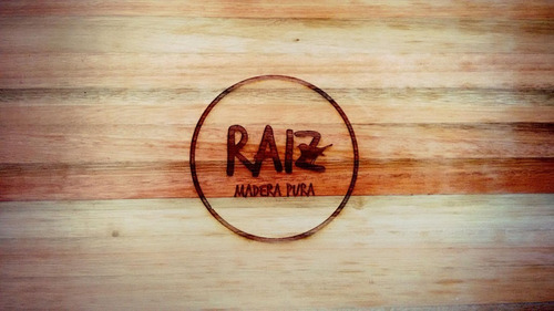 tabla de picar mod. arrayanes - productos raíz - madera pura