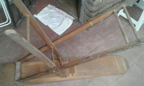 tabla de planchar antigua