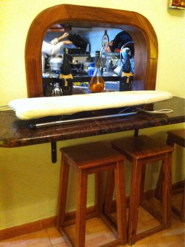 tabla de planchar para mesa base corta