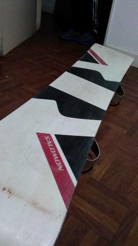 tabla de snowboard salomon