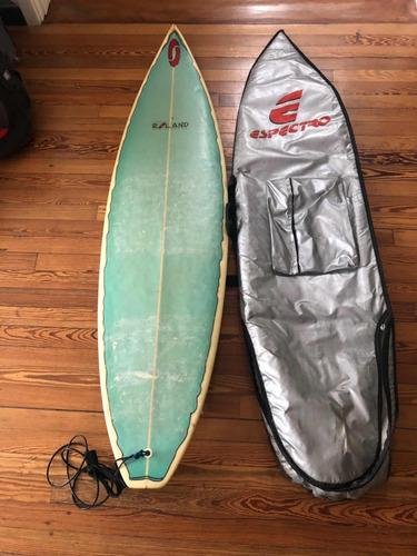 tabla de surf 6.3 roland de usa! con funda!