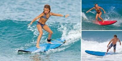tabla de surf bic 6´6 classic nuevas g-boards 198 cm escuela