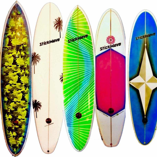 tabla de surf fun 7,4 a 7,8 nuevas stickwave factory