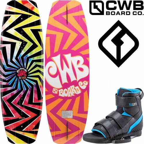 tabla de wakeboard lancha y park cwb jive 143 botas venza ct