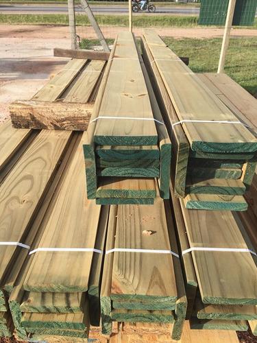 tabla deck curadas con cca 242c/u tratada madera piso pared
