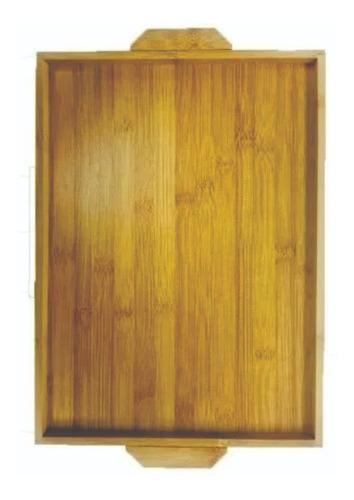 tabla desayuno de madera bamboo  , practica y liviana chica