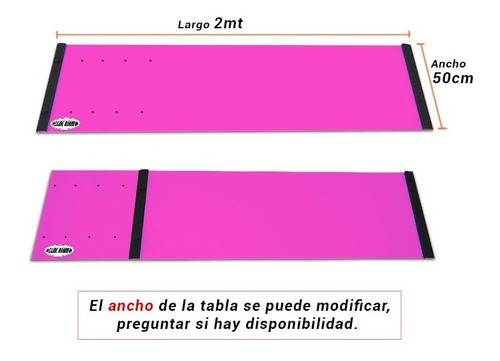 tabla deslizante -slideboard - para patinaje