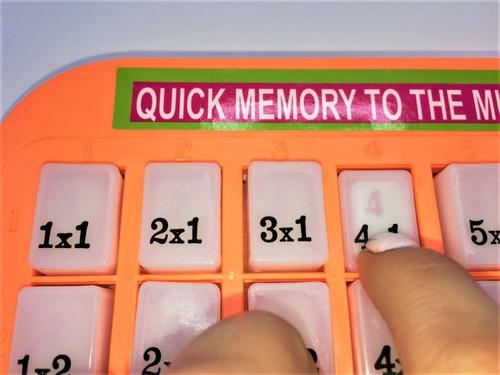 tabla  didáctica multiplicar aprendizaje
