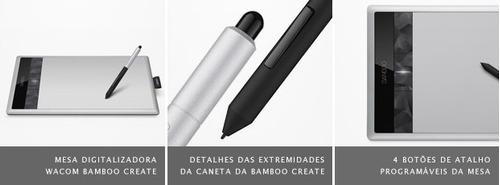tabla digitalizadora bamboo create pen & touch