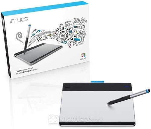 how to draw with intuos pen small