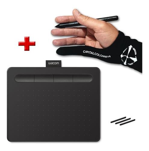 tabla digitalizadora wacom intuos s black ctl4100 + guante