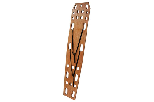 tabla espinal de madera con correas tipo araña