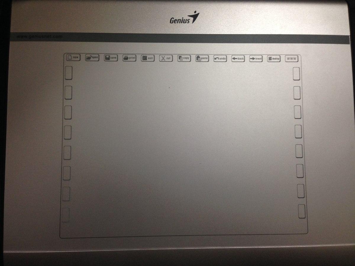 Tabla Graficadora Genius Mouse Pen I608x Digitalizadora Bs 110 With Drawing Pad Cargando Zoom