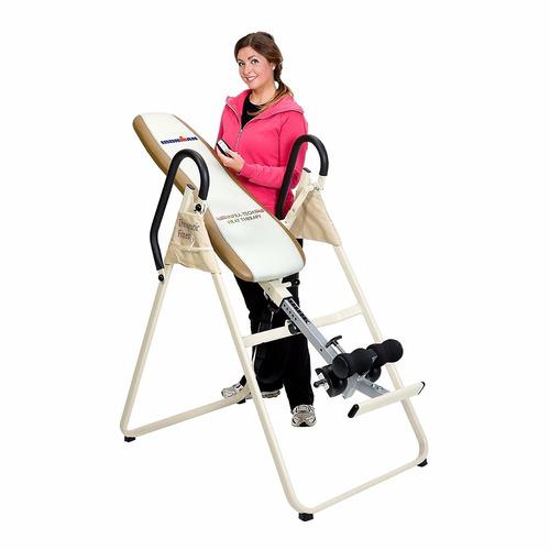 tabla inversión gravedad terapia infrarroja dolor espalda
