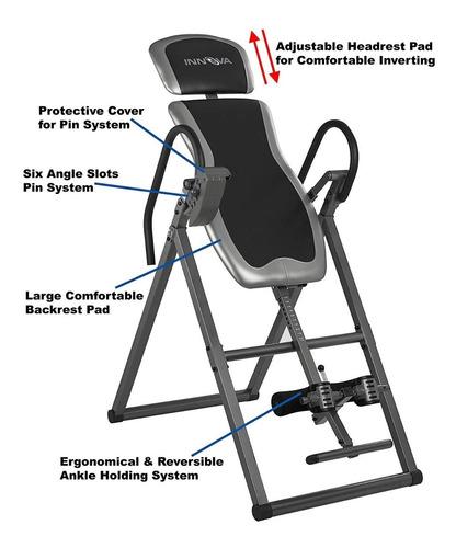 tabla inversion innova itx9600  terapia dolor de espalda