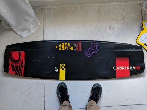 tabla kite cabrinha custom 2013 - 140cm - strap north entity