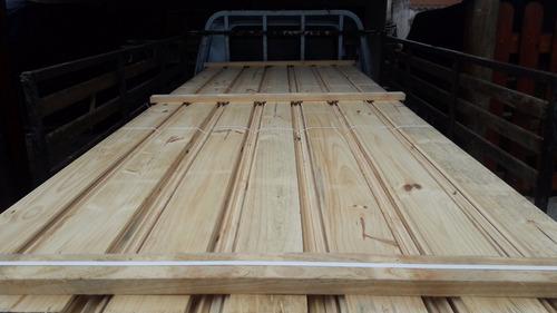 tabla machimbrada tirantes tablas pino madera