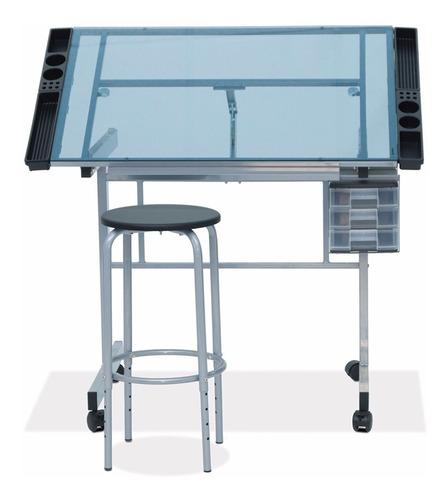 tabla mesa d trabajo  dibujo escritorio restirador con banco