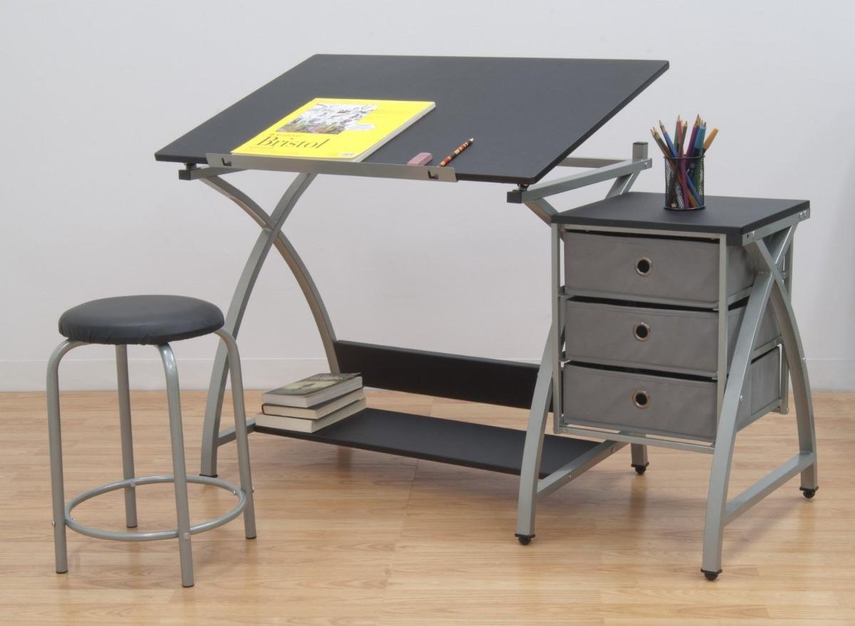 Tabla mesa de trabajo dibujo escritorio restirador banco for Dimensiones mesa de trabajo