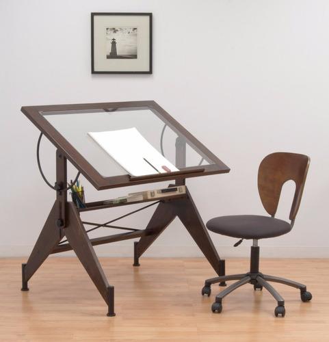 tabla mesa de trabajo para dibujo 30 x 42 restirador