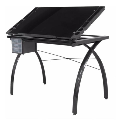 tabla mesa trabajo restirador dibujo con cajonera 23x35