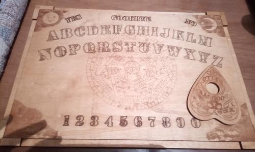tabla ouija en madera