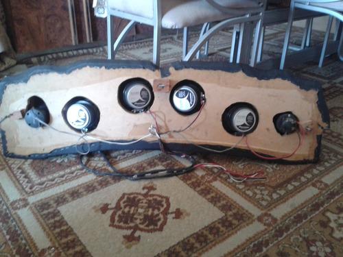 tabla para carro sin cornetas