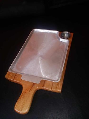 tabla para churrasco y carnes